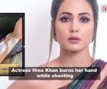 Hina Khan burns her hand while shooting; Surveen Chawla shares first picture of her baby girl 'Eva', and more