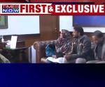 Indin engineer Hamid Ansari meets Sushma Swaraj after returning from Pak