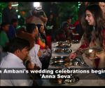 Isha Ambani-Anand Piramal's pre-wedding celebrations begin with 'Anna Seva' in Udaipur