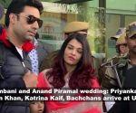 Isha Ambani and Anand Piramal wedding: Priyanka-Nick, Salman Khan, Katrina Kaif, Bachchans arrive at Udaipur