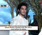 Ishaan Khatter's kitty filled with new projects!