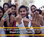 Its Holi hai with colors and thandai for people of Bhopal