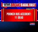 J&K: At least 11 dead, many injured as bus falls into gorge in Poonch