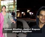Janhvi Kapoor and Ishaan Khatter spotted post a lunch date in Mumbai