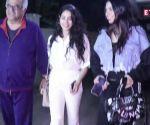 Janhvi Kapoor, Khushi Kapoor celebrate Boney Kapoor's birthday