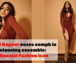 Janhvi Kapoor oozes oomph in a stunning ensemble: Millennial Fashion Icon