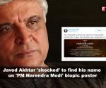 Javed Akhtar 'shocked' to find his name on 'PM Narendra Modi' biopic poster; Sapna Choudhary may join politics, and more