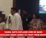 Kamal Nath explains how he made Digvijaya Singh agree to fight from Bhopal
