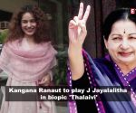 Kangana Ranaut to play J Jayalalitha in biopic 'Thalaivi'