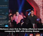 Karan Johar blames technical error after liking an insulting tweet about Shah Rukh Khan