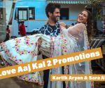 Kartik Aryan & Sara Ali Khan Promoting Movie Love Aaj Kal 2