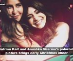 Katrina Kaif brings in Christmas cheer with 'Zero' co-star Anushka Sharma