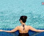 Kriti Sanon enjoys pool time in a bikini, pics go viral
