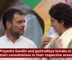 Lok Sabha Elections 2019: Priyanka Gandhi, Jyotiraditya Scindia to start public interaction in Uttar Pradesh
