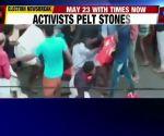 Lok Sabha polls: LDF-UDF activists clash during Shashi Tharoor's roadshow