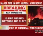 Major fire at chemical warehouse in Navi Mumbai