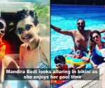 Mandira Bedi turns up the