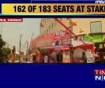 Massive preparations ahead of PM Narendra Modi's mega roadshow in Varanasi
