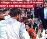 Meerut: BJP leaders face villagers' anger for laughing at martyr's cremation