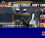 Mortal remains of Pulwama martyrs reach Delhi, Rahul Gandhi pays tribute