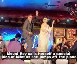 Mouni Roy jumps off a plane, calls herself an 'idiot'