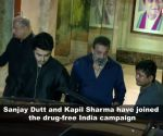 Na drugs karunga, na karne doonga: Sanjay Dutt and Kapil Sharma get emotional during a drug-free India campaign