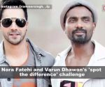 Nora Fatehi and Varun Dhawan challenge their fans