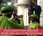 Odisha: Longest cycle tour of 1300km flagged off from Bhubaneswar