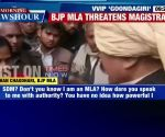On cam: Don't you know my power, Agra BJP MLA threatens woman SDM in full public view
