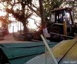 On cam: Illegal homestays demolished in Alibaug