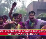 People celebrate Holi with joy and fervour across the nation