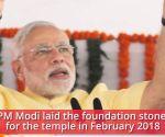 PM Narendra Modi to inaugurate Akshardham replica at Abu Dhabi