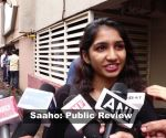 Public review of Prabhas and Shraddha Kapoor's 'Saaho'