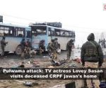 Pulwama terror attack: Actress Lovey Sasan meets family of deceased CPRF jawan