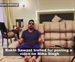 Rakhi Sawant trolled for posting a video promising Mika Singh to get him out of Dubai jail