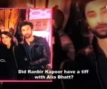Ranbir Kapoor and Alia Bhatt's tensed moment caught on camera!