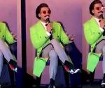 Ranveer Singh steps out in neon green, wifey Deepika Padukone asks 'going where?'