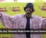 Ranveer Singh trolls his dressing style, compares it to 'toilet cleaner'