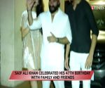 Saif Ali Khan rings in birthday with family