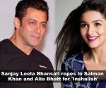 Salman Khan to romance Alia Bhatt in Bhansali's 'Inshallah', Kartik Aaryan-Sara Ali Khan's bike riding scene gets leaked, and more…