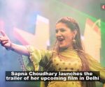 Sapna Choudhary all set to make her acting debut, launches trailer of her upcoming film 'Dosti Ke Side Effects'