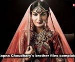 Sapna Choudhary's brother files complaint for non-payment of dues