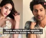 Sara Ali Khan and Varun Dhawan to come together for a remake