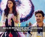 Sara Ali Khan back to B-town post her US vacation
