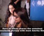Sara Ali Khan reveals she has a 'woman crush' on this Bollywood actress!