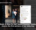Saumya Tandon of 'Bhabi Ji Ghar Pe Hai' shares first picture of newborn baby