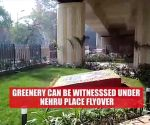 SDMC develops theme based beautification at spaces underneath flyovers