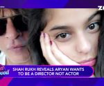 Shah Rukh Khan reveals future plans of his kids Aryan Khan and Suhana Khan