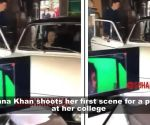 Shah Rukh Khan's daughter Suhana Khan shoots for her first short film with college friends
