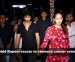 Shahid Kapoor reacts to stomach cancer rumours; Bollywood lights up Isha Ambani's sangeet ceremony, and more